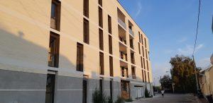 Résidence Cité des Arts en cours d'achèvement des travaux