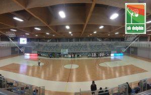 Terrain de basket du club Saint Delphin de Villenave d'Ornon